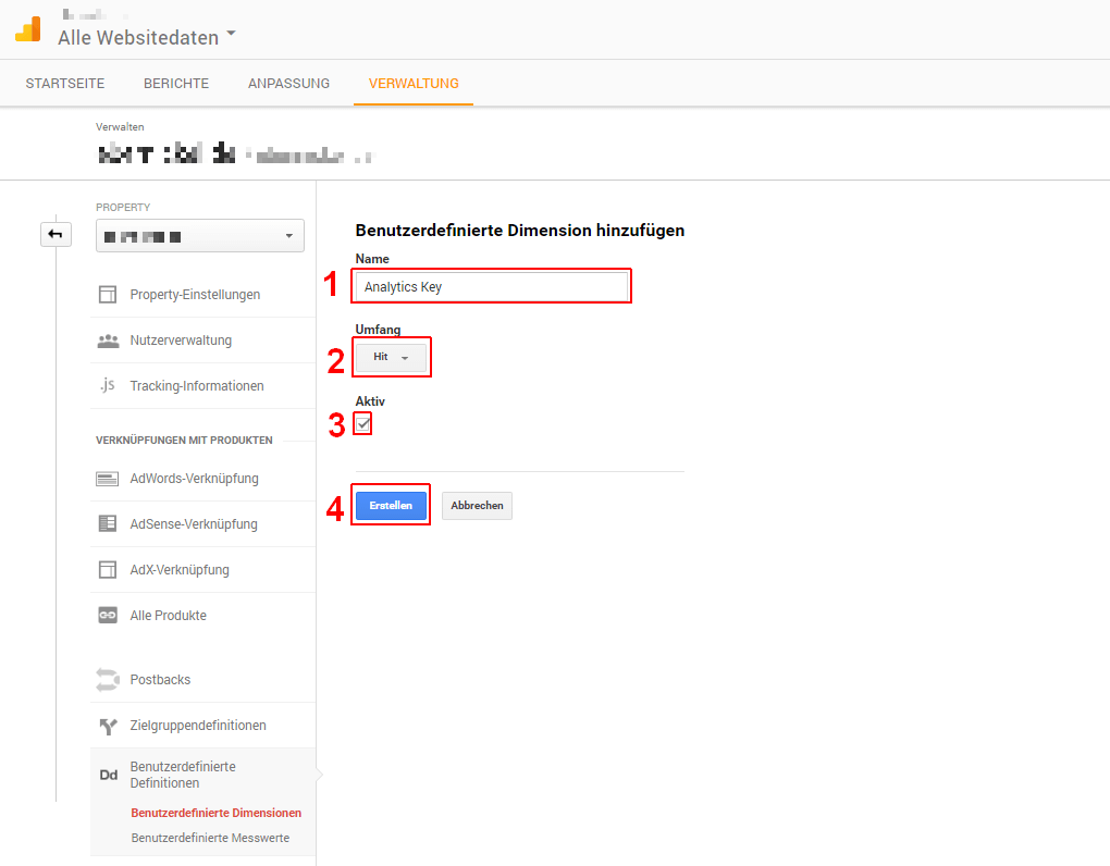 Google Analytics Key, 01