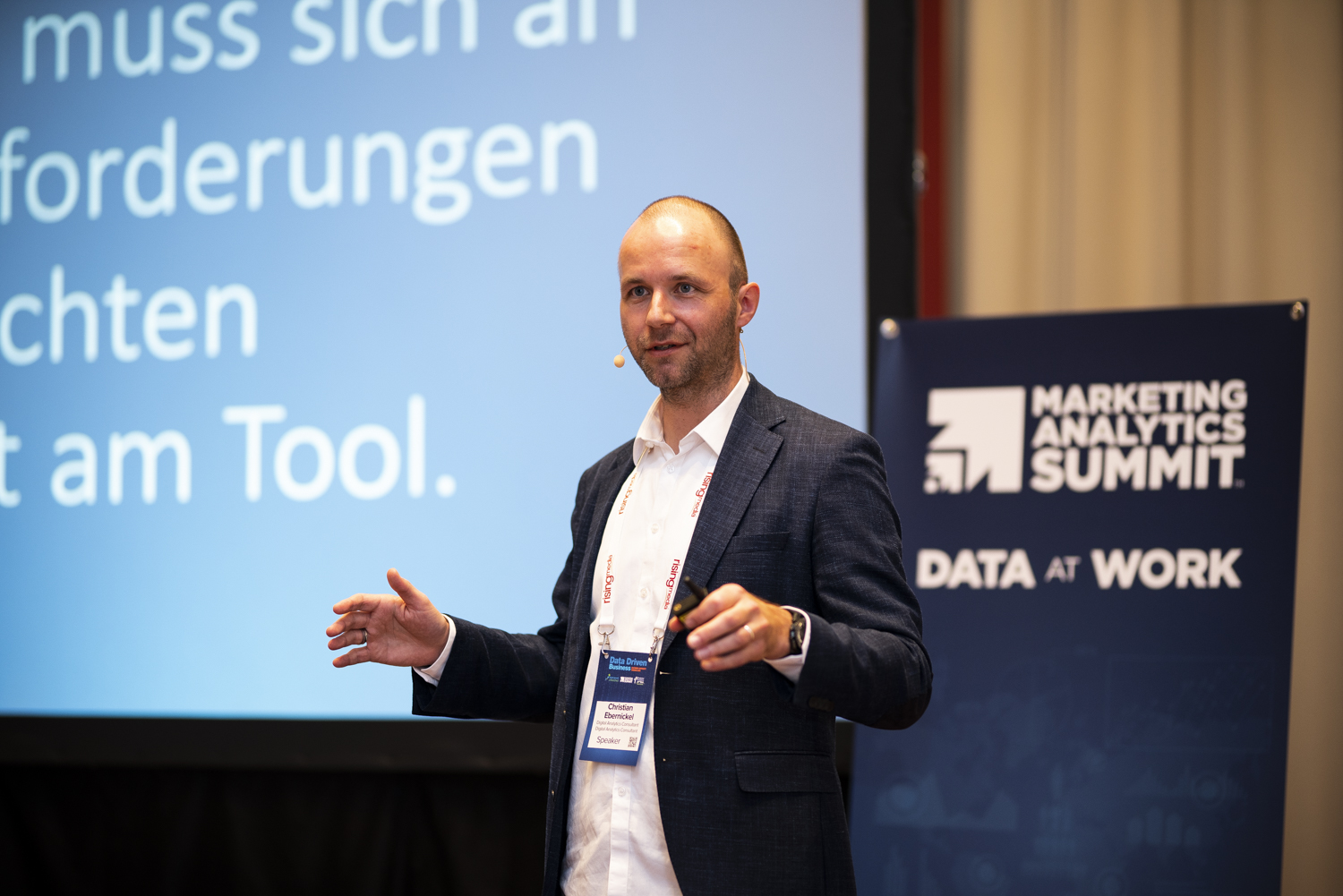 Marketing Analytics Summit 2019, Christian Ebernickel. Mehr als Feel Good Reporting.