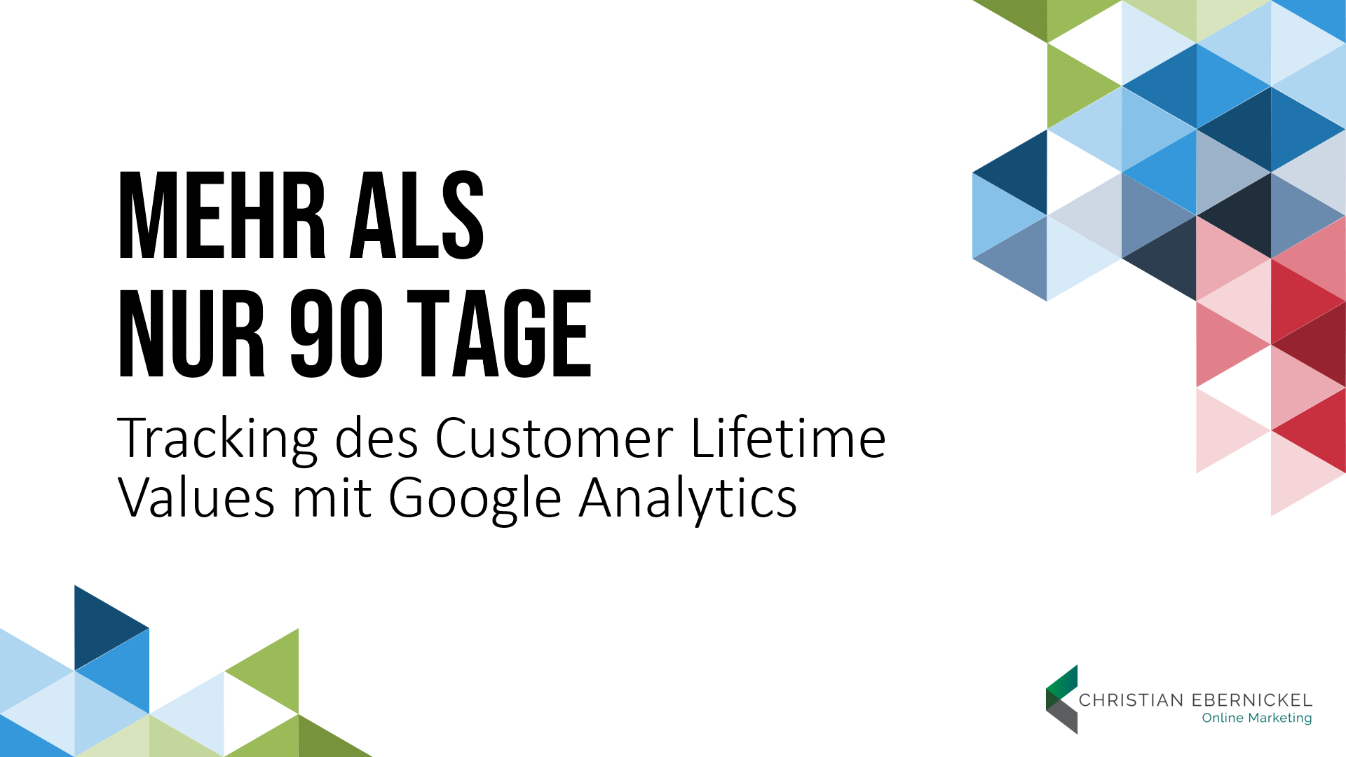 Tracking des Customer Lifetime Values mit Google Analytics